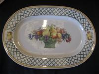 mittlere ovale Platte l: 33,5 cm Basket