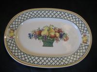 kleine ovale Platte l: 30,5 cm