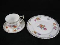 Rosenthal Sylvia Kaffeegedeck Tasse Unterteller Kuchenteller