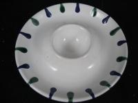 Eierbecher Gmundner Keramik Dekor Traunsee