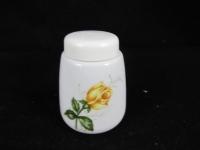 Pfefferstreuer Seltmann Weiden gelbe Rose