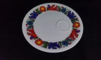 flacher Teller mit Stellfläche für Tasse d: 24 cm
