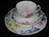 Teegedeck Teetasse mit Unterteller und Kuchenteller