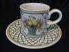 Espressotasse mit Unterteller Basket
