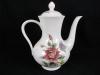 Kaffeekanne - Moccakanne Bouquet altes Dekor