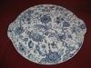 runde Platte mit Griffen 35,5 cm