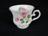 Kaffeetasse Seltmann weiden rote Rose Tasse Royal China