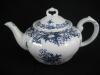 Teekanne ohne Deckel mit Cut Valeria blau