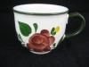Kaffeetasse mit roter Blume Bauernblume