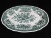 Platte oval l: 32 cm Fasan grün