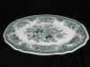 ovale Platte l: 41 cm Fasan grün