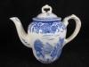 Kaffeekanne h: 16 cm  Burgenland blau