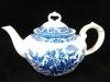 Teekanne Fasan blau