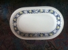 mittlere ovale Platte l: 24 cm