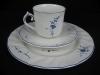 Kaffeegedeck Kaffeetasse mit Unterteller und Kuchenteller