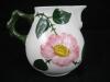 Milchkännchen  h: 8,5 cm Wildrose