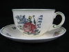 Teetasse mit Unterteller