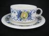 Teegedeck Teetasse mit Unterteller