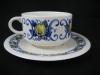 kleine Teetasse mit Unterteller