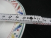 ovale Platte l: 34 cm