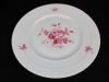 Speiseteller Hutschenreuther Tradition, Rote Rose  d: 25,5 cm