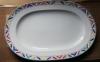 ovale Platte l: 23 cm Indian Look